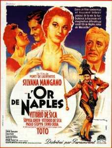 Toto L'or De Naples 1954
