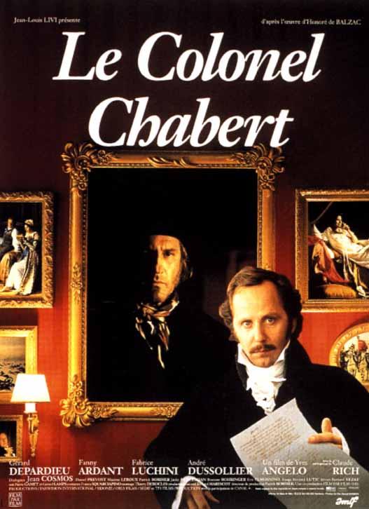 Le Colonel Chabert (1994) affiche